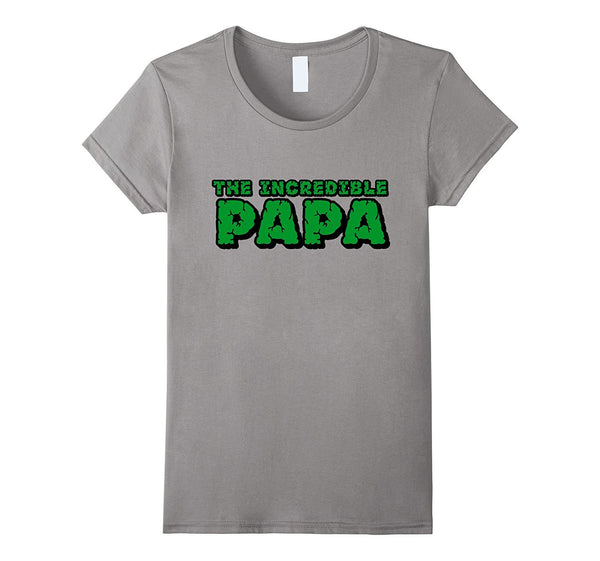 abcc4e49 The Incredible PAPA T Shirt Superhero Father's Day Gift Tee – Love ...