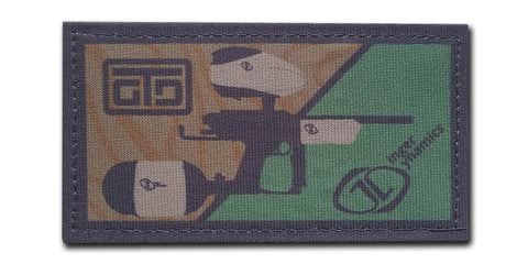 "Ginger Tactical 2x4"" Patch"