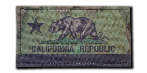 "California Tactical 2x4"" Patch"