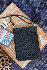 Mini Braided Crossbody Strap