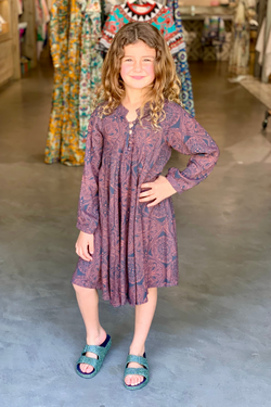 Kids Rayon Print Fiore