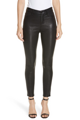 Adelaide Stretch Leather Skinny