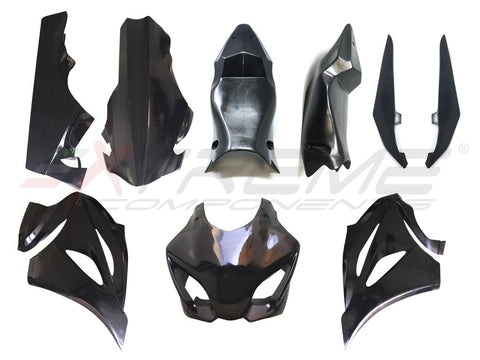 COMPLETE FAIRING WITH TANK SIDE PANEL AND SEAT IN A UNIQUE PIECE FOR SUZUKI GSXR 1000 (2017/2020)