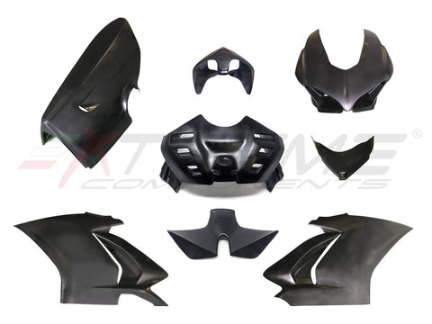 COMPLETE FAIRINGS + REAR TAIL + AIRBOX COVER + AIRBOX PIPE FOR DUCATI PANIGALE V4 / V4S (2018/2019)