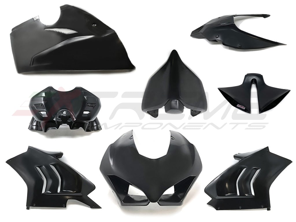 COMPLETE FAIRINGS + REAR TAIL AND SEAT LOWER PLATE + AIRBOX COVER + AIRBOX PIPE FOR DUCATI PANIGALE V4R (2019/2020)