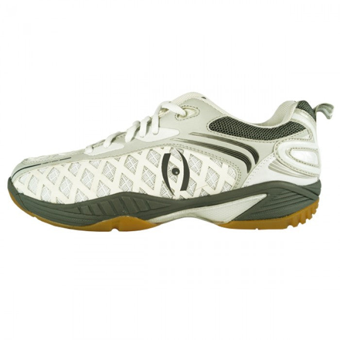 Harrow Vortex Court Shoes in Gray and White Color