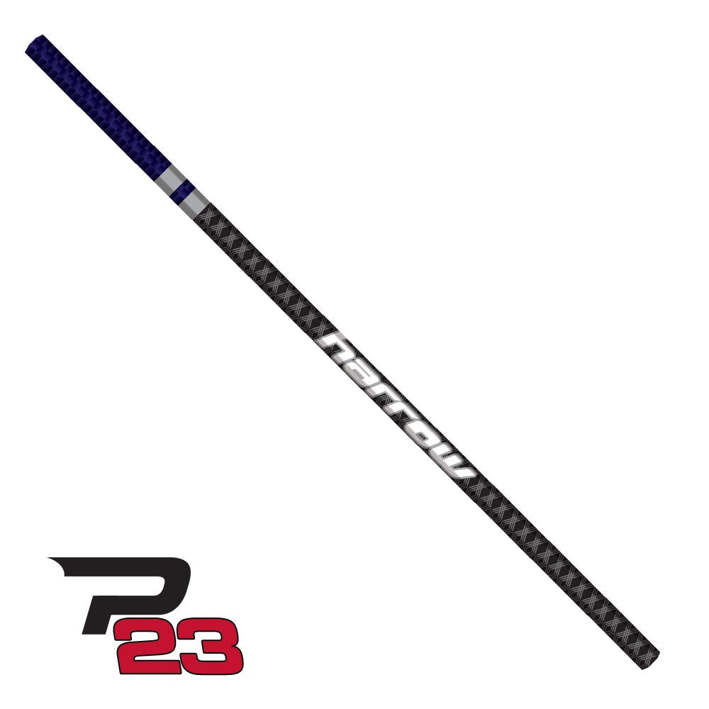 Harrow P23 Ultralight Straight Lacrosse Shaft - Purple and Black