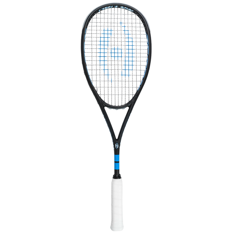 New Harrow Spark Squash Racquet - Black and Royal