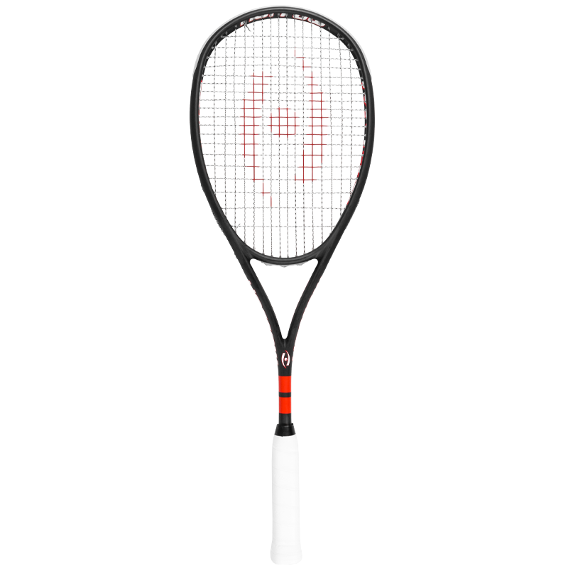 New Harrow M-140 Squash Racquet - Black and Red