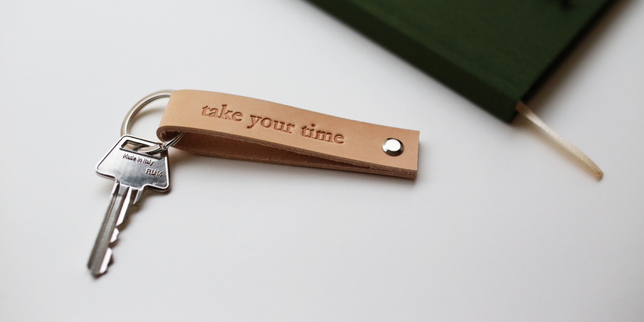 Always at hand: meet our new handmade leather key holder