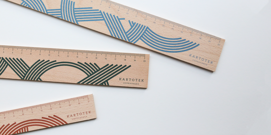 Meet our new Wooden Rulers with a graphic touch