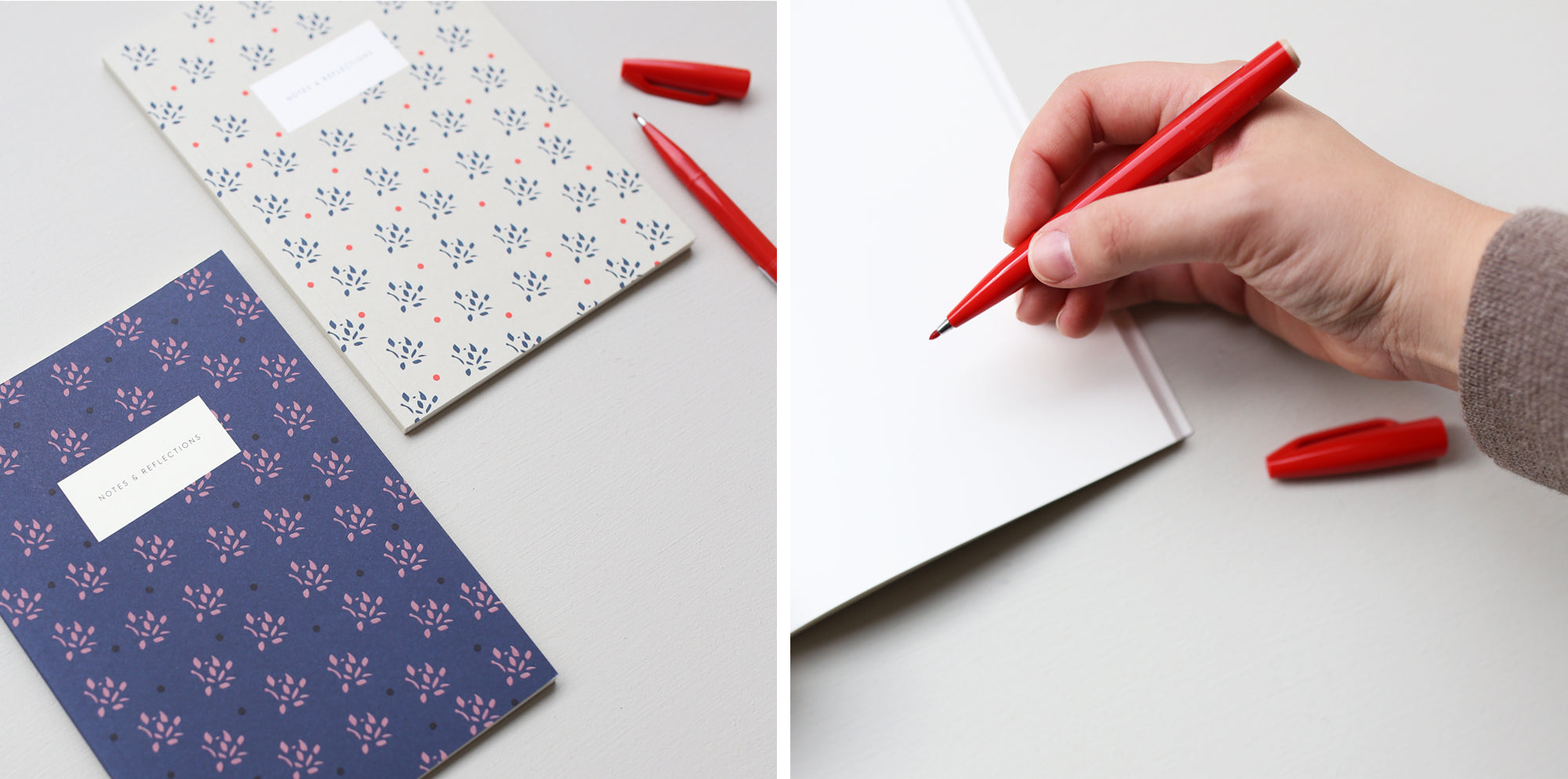 Small Floral Notebooks