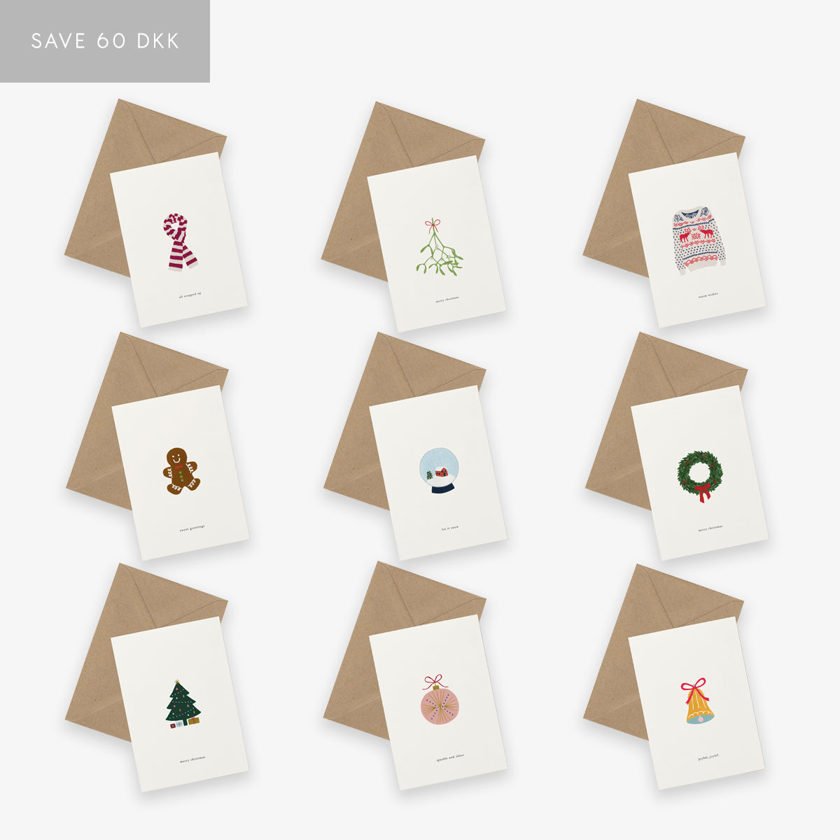 GREETING CARD SET // CHRISTMAS FULL SET