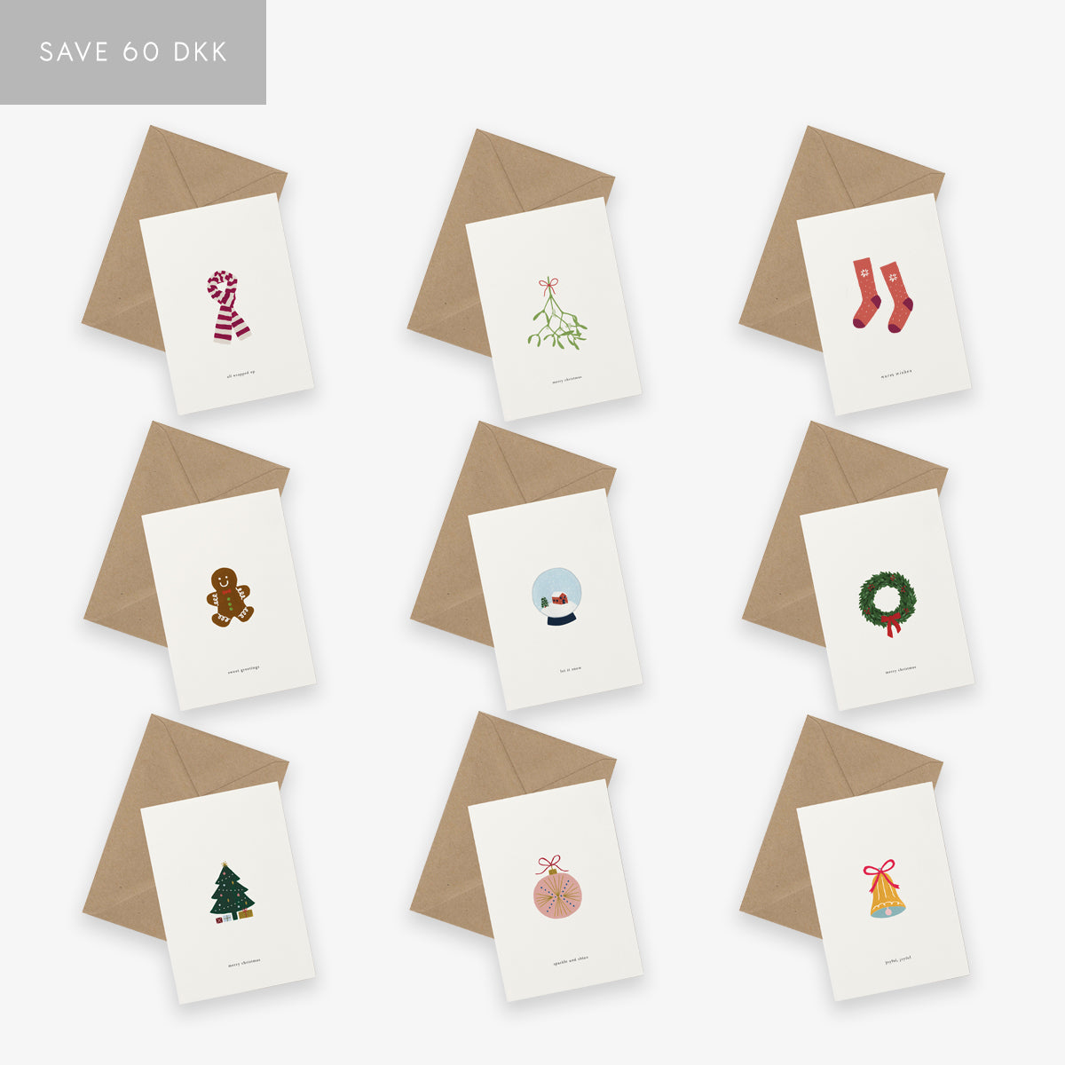 GREETING CARD SET // CHRISTMAS FULL SET TWO