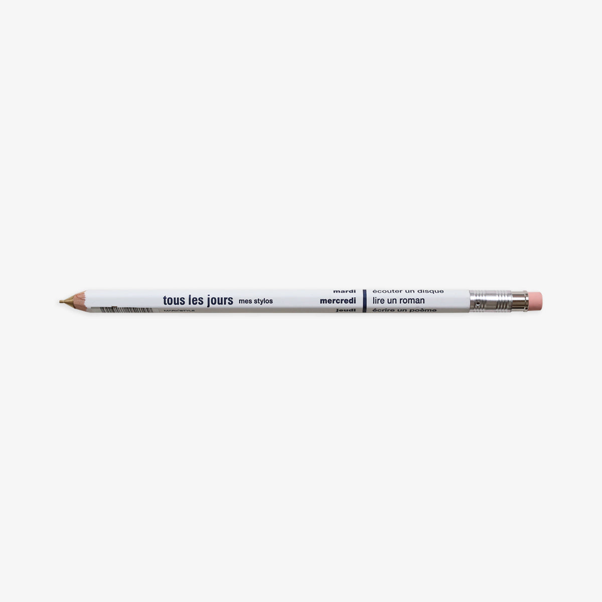 DAYS MECHANICAL PENCIL 0.5mm // WHITE
