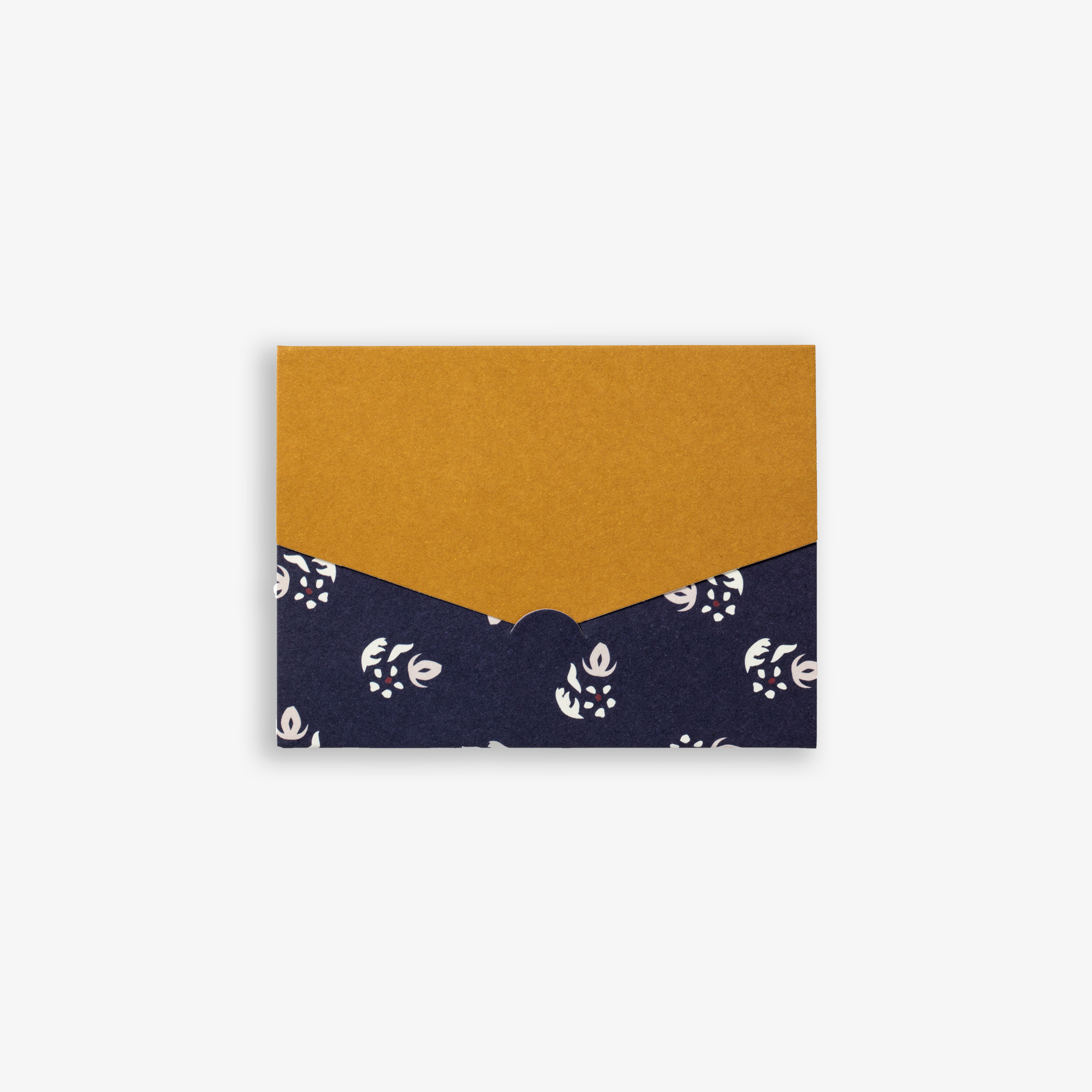 ENVELOPE CARD SET OF 4 NAVY