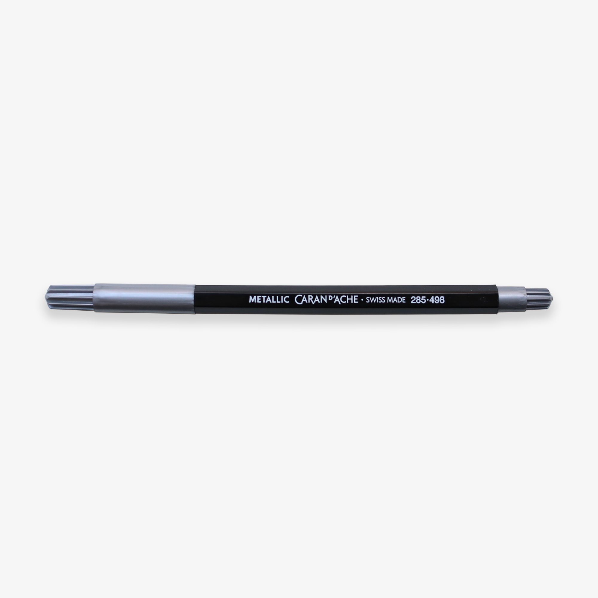 FIBRALO BRUSH MARKER PEN METALLIC // SILVER