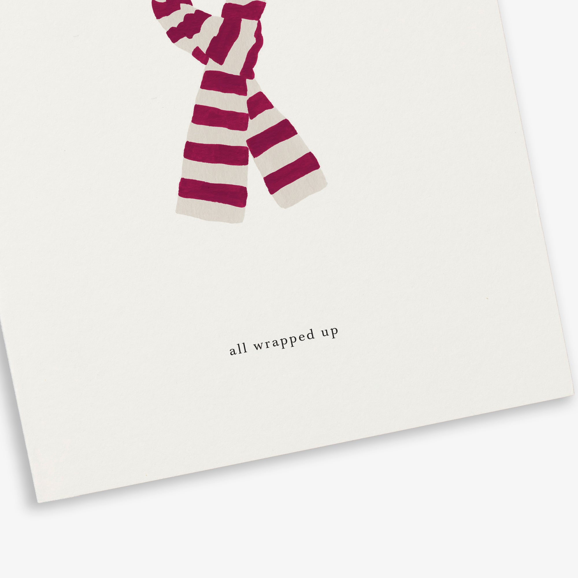 GREETING CARD / SCARF