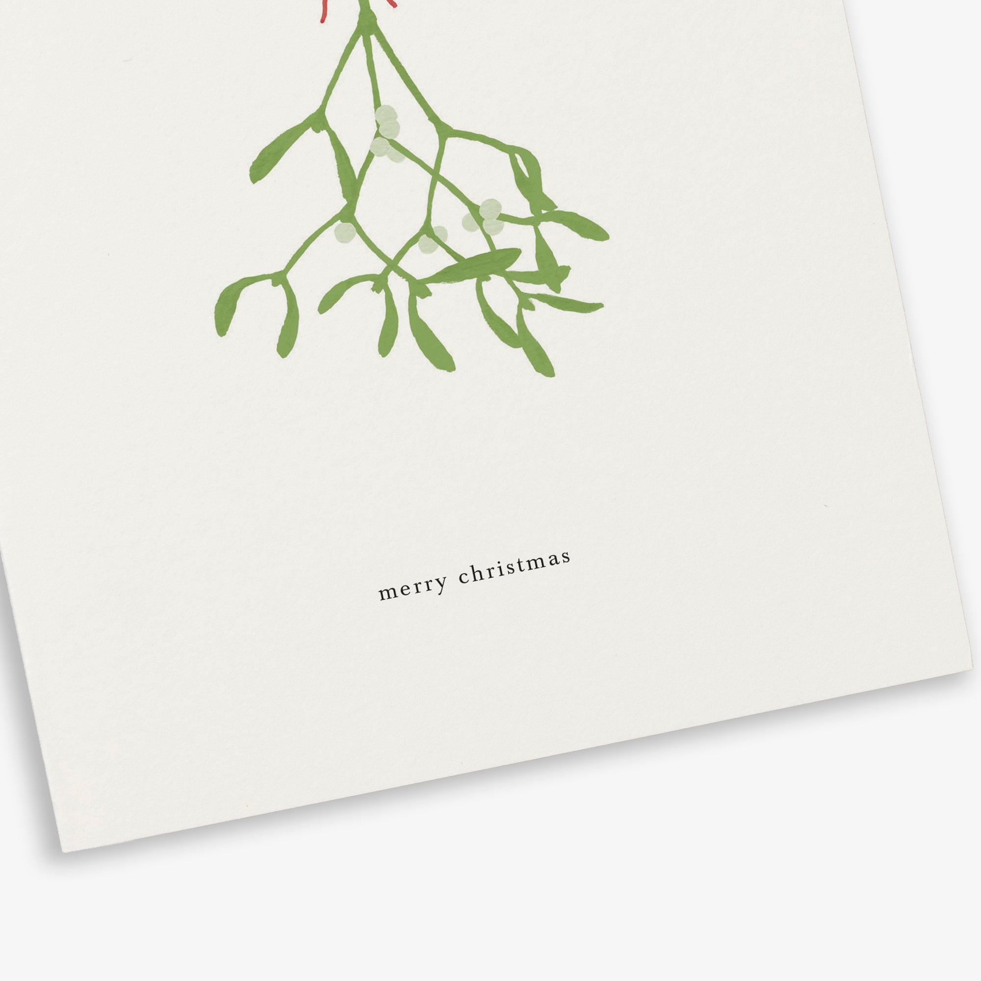 GREETING CARD / MISTLETOE