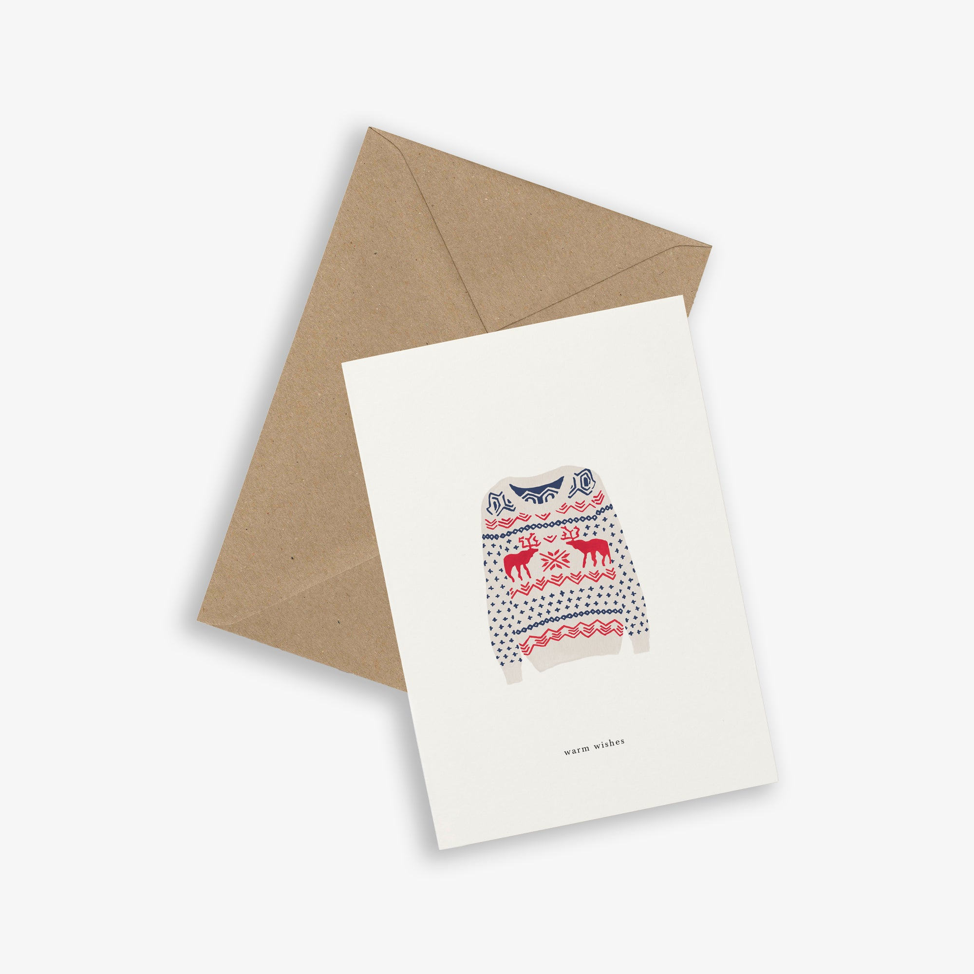 GREETING CARD / X-MAS SWEATER