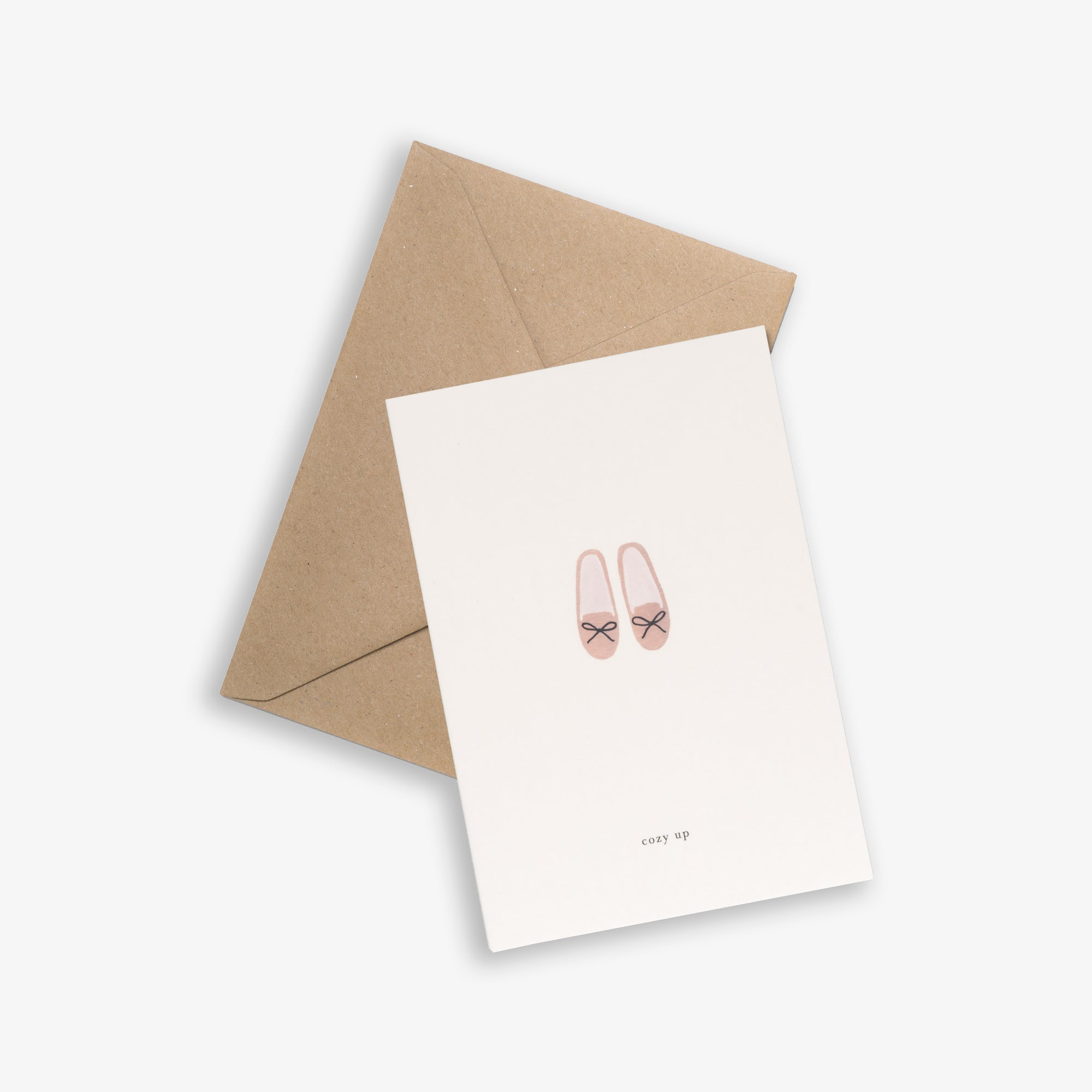GREETING CARD / SLIPPERS