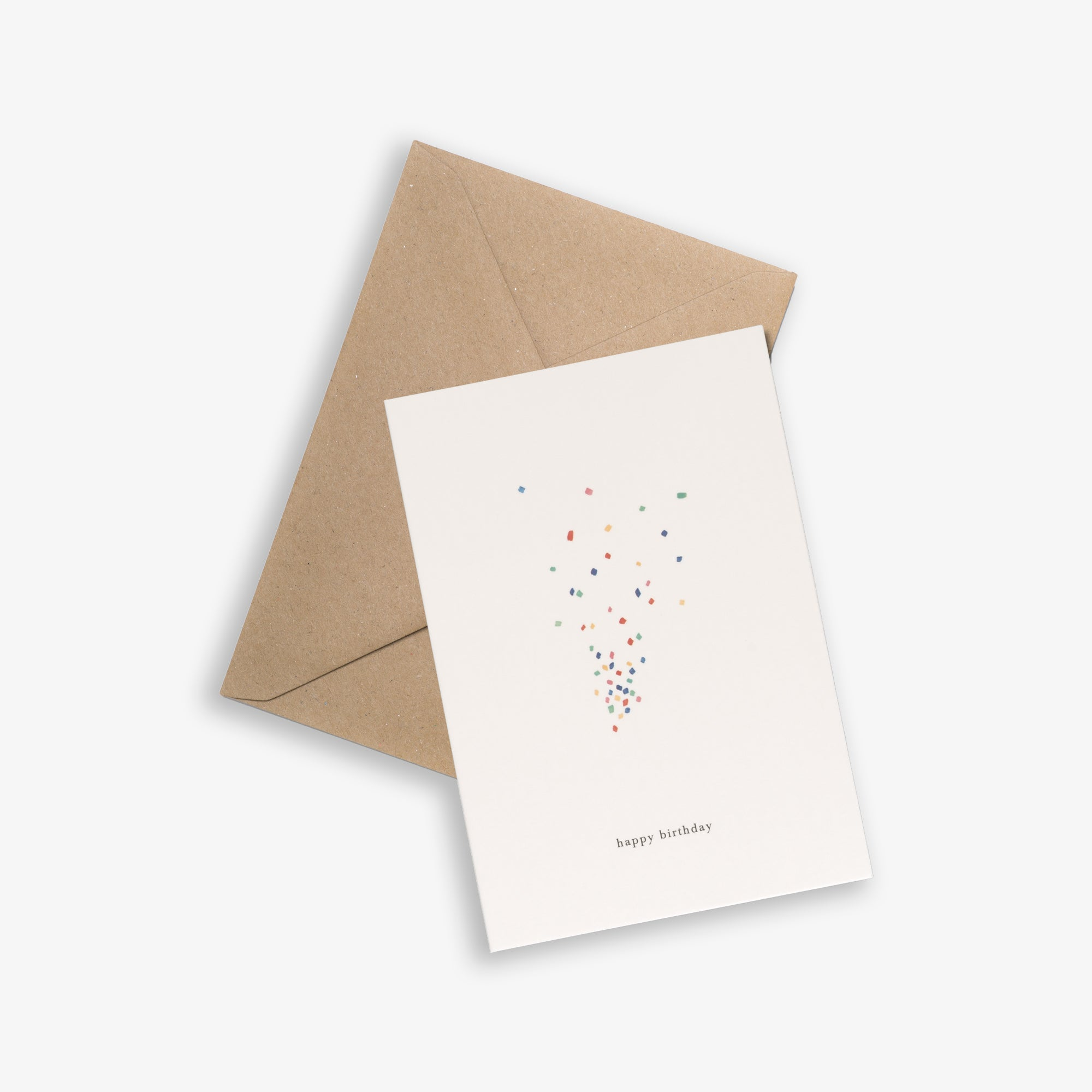 GREETING CARD / CONFETTI
