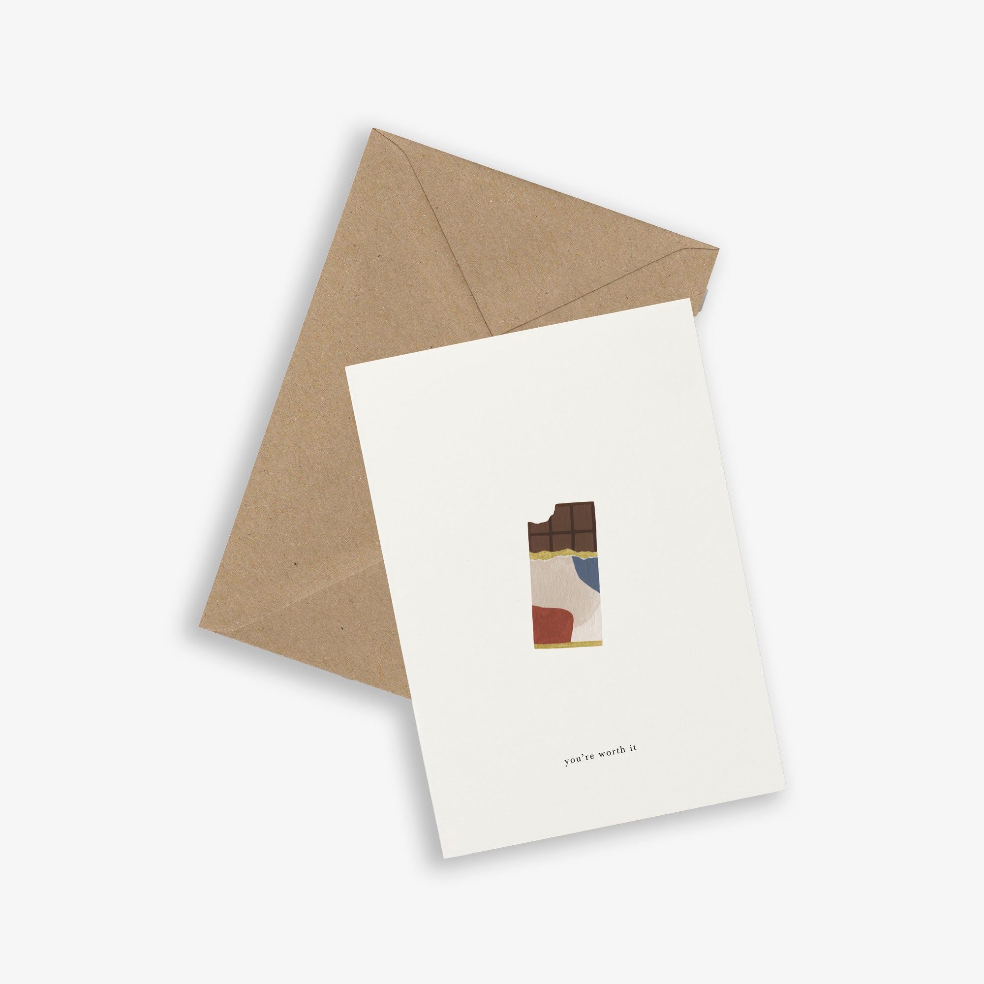 GREETING CARD / CHOCOLATE BAR