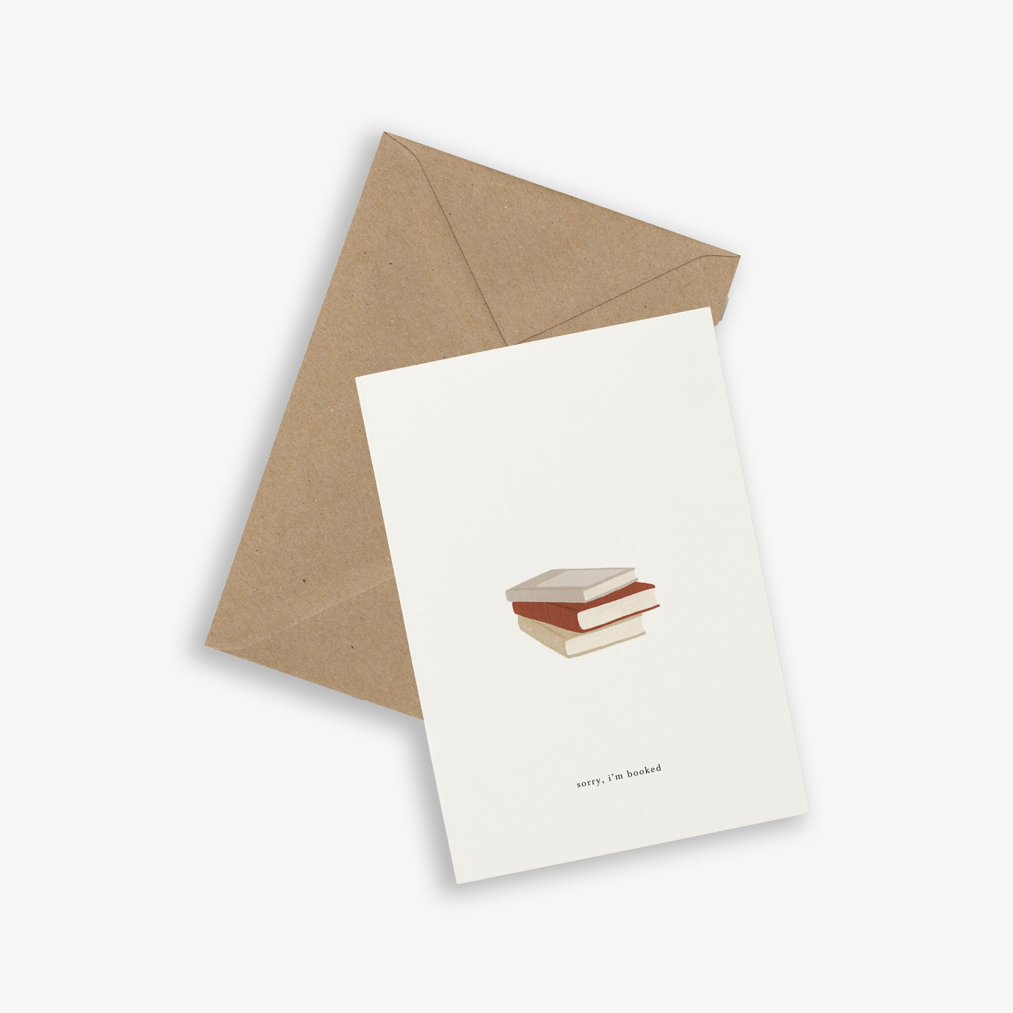 GREETING CARD / BOOK STACK