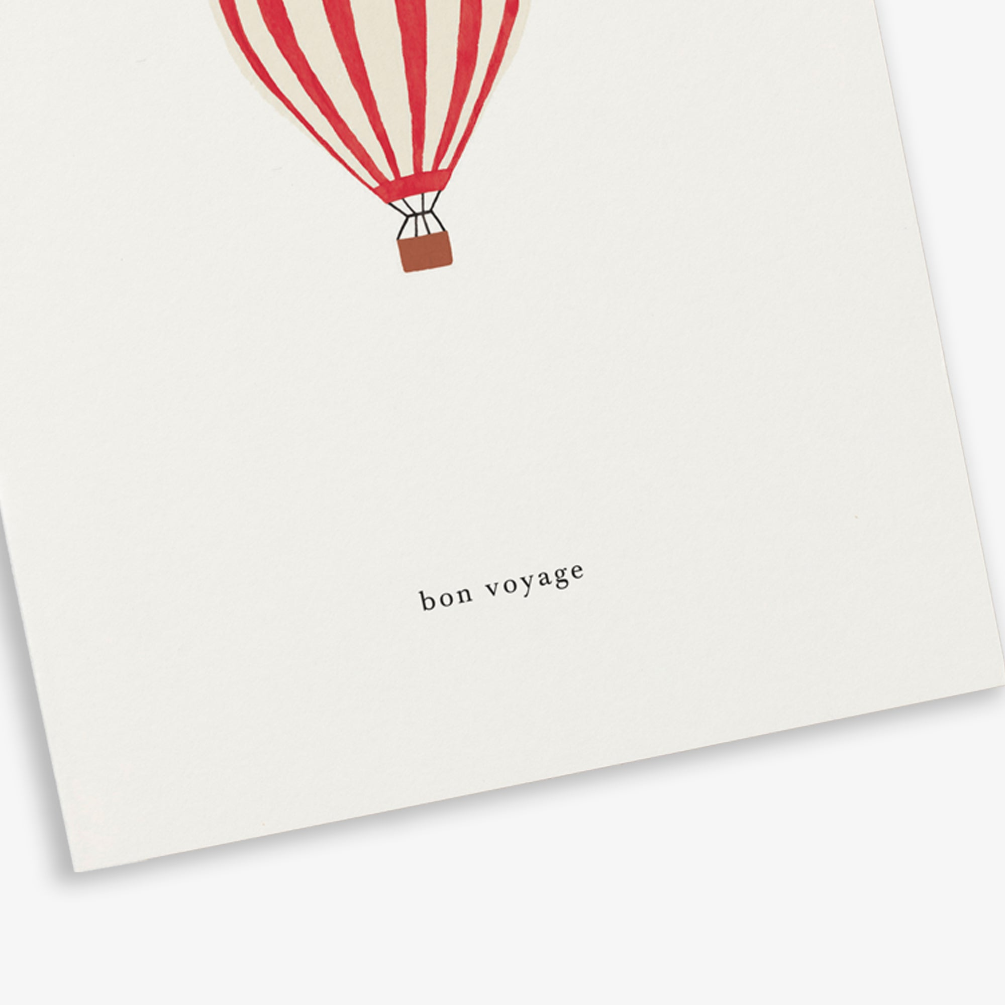 GREETING CARD / HOT AIR BALLOON