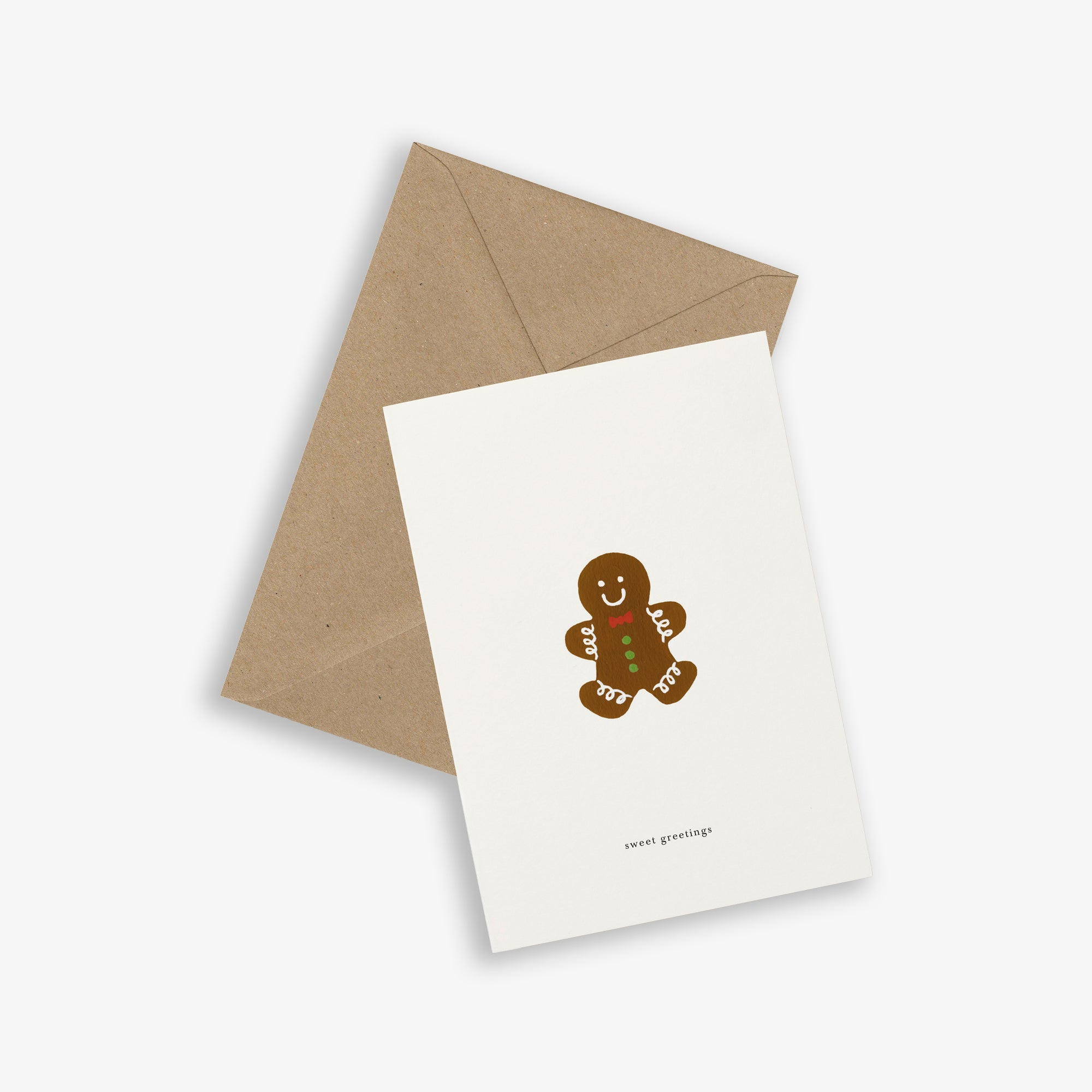 GREETING CARD / GINGERBREAD