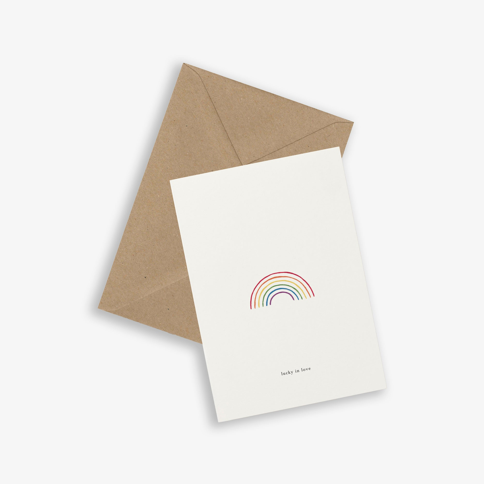 GREETING CARD / RAINBOW