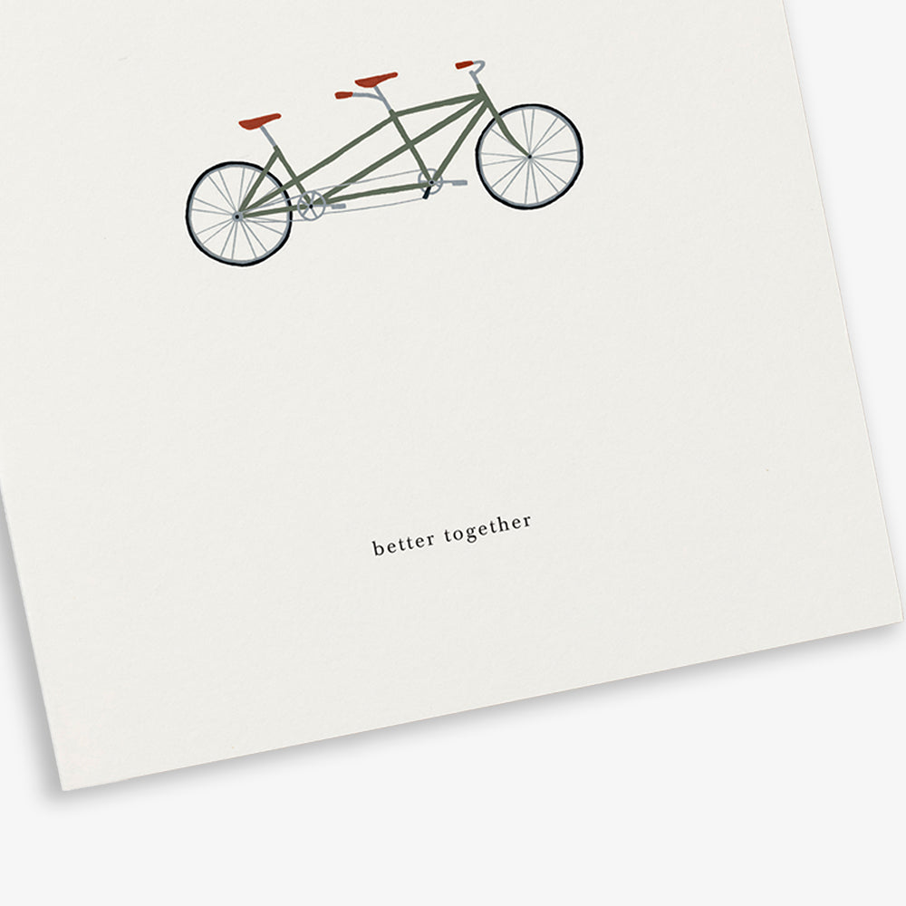GREETING CARD / TANDEM
