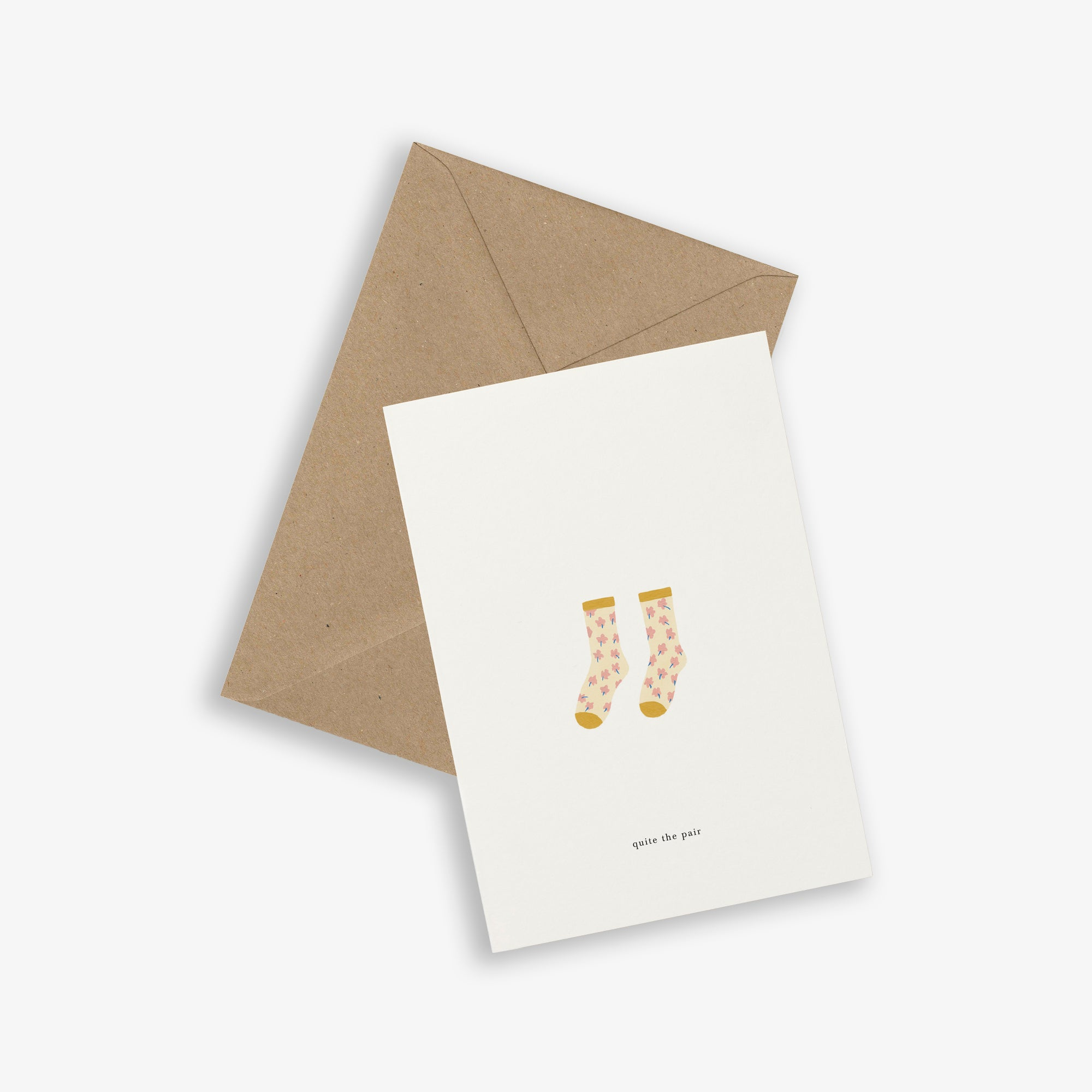 GREETING CARD / SOCKS