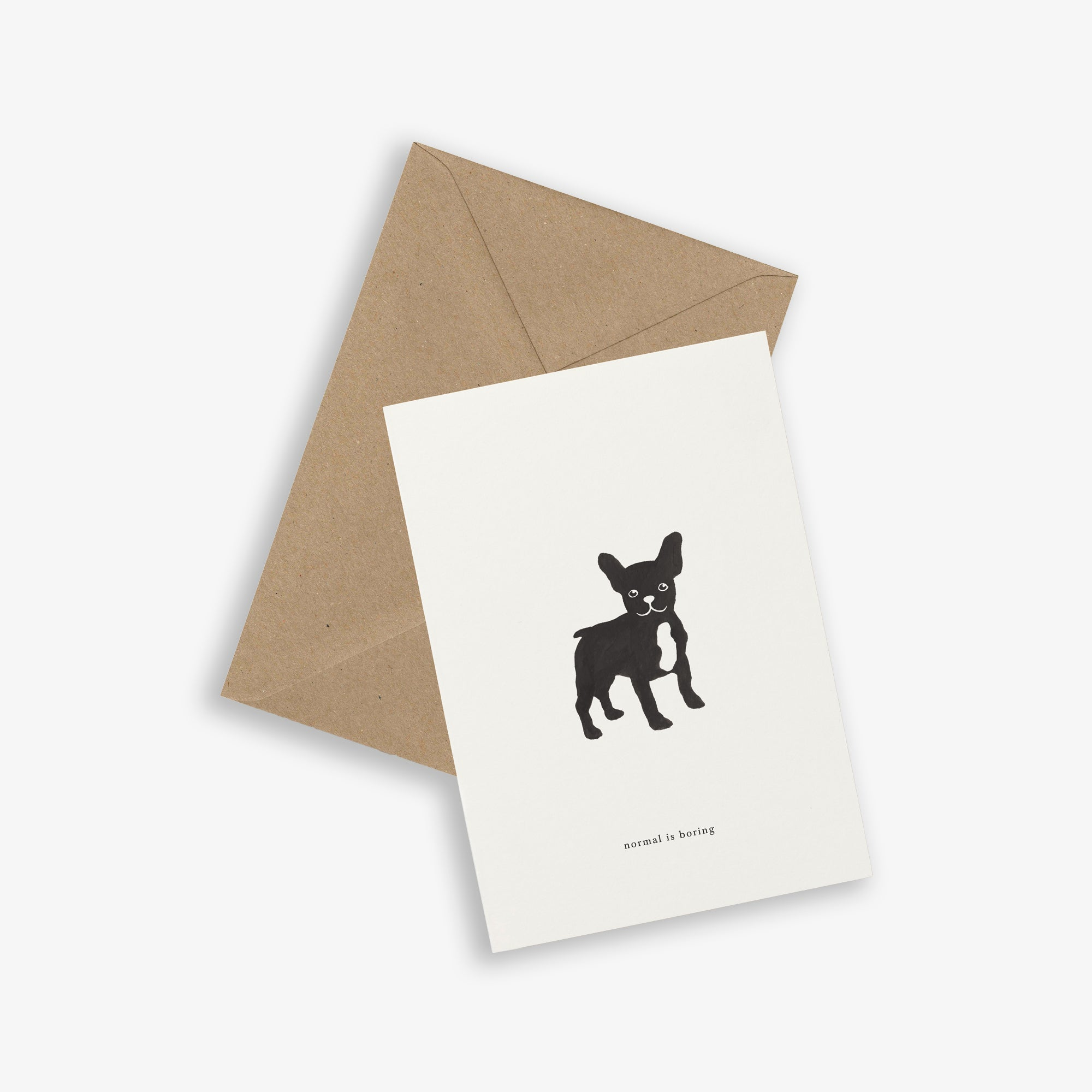 GREETING CARD / FRENCHIE