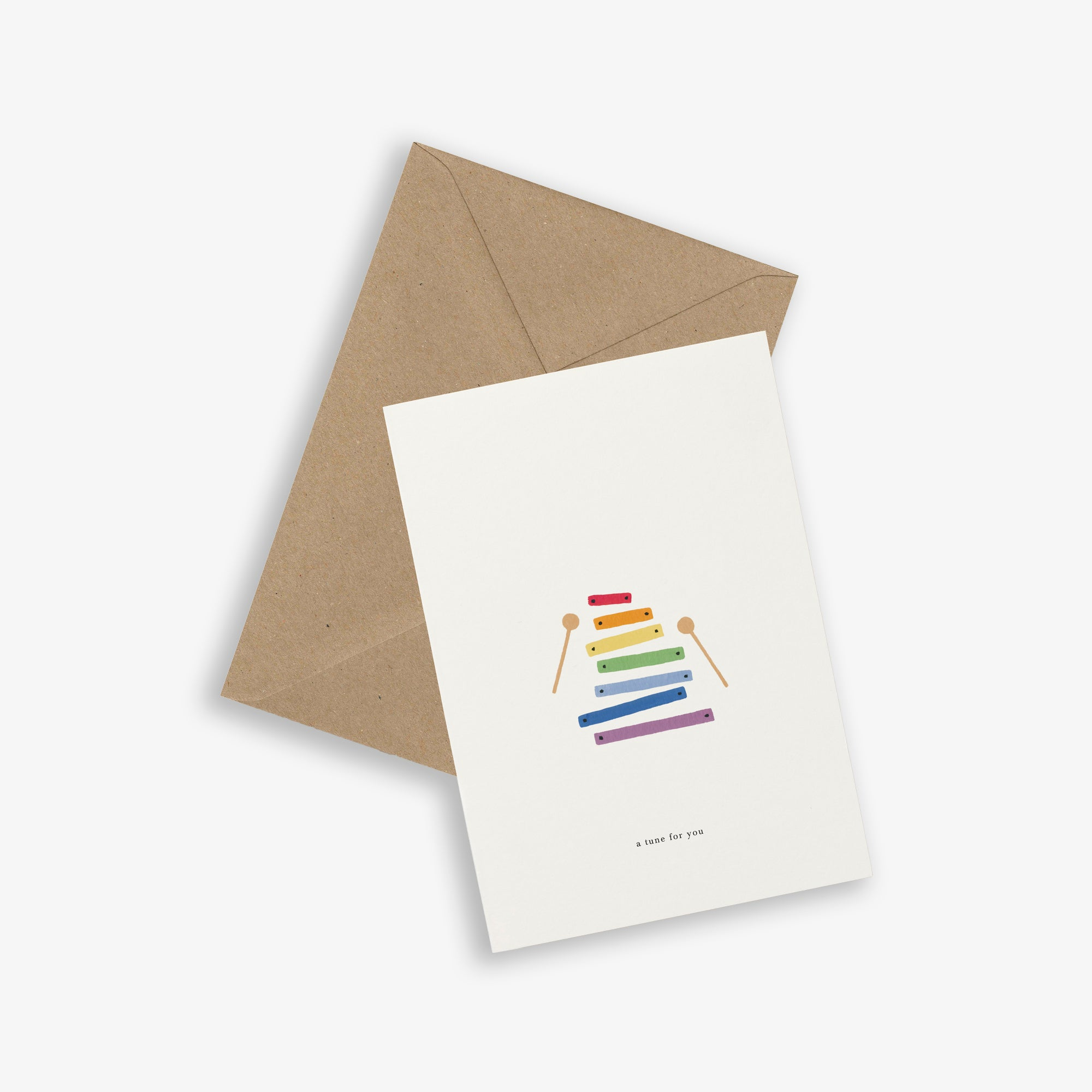 GREETING CARD / XYLOPHONE