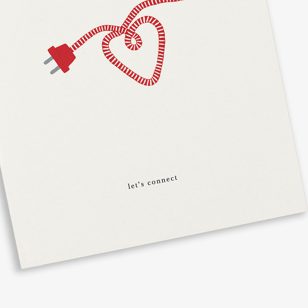 GREETING CARD / POWER CORD