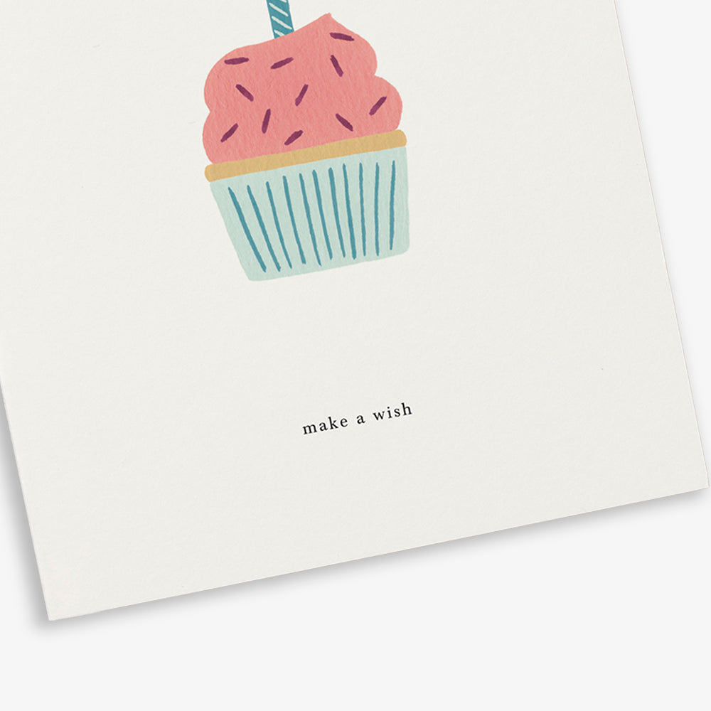 GREETING CARD / BIRTHDAY CAKE