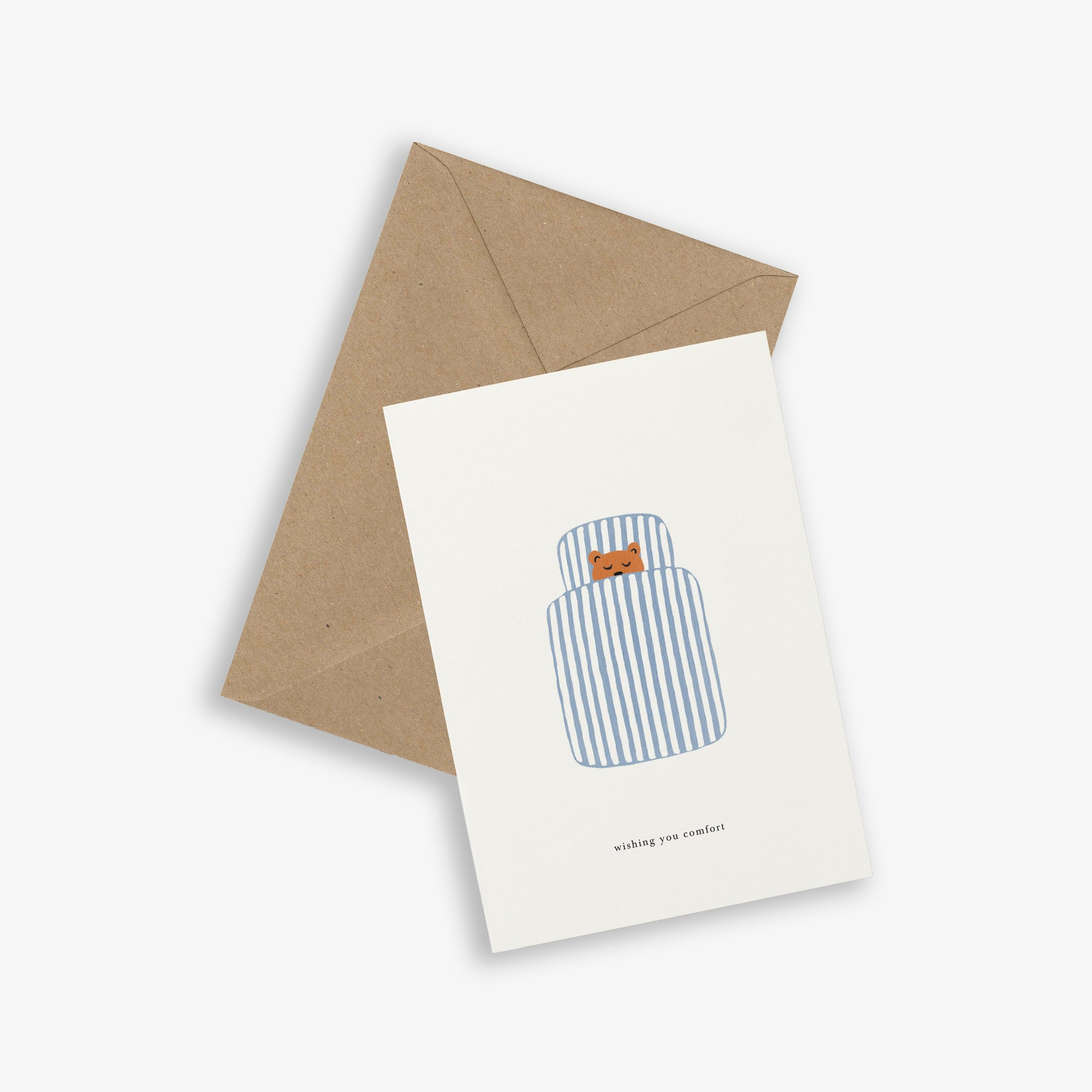 GREETING CARD / DUVET