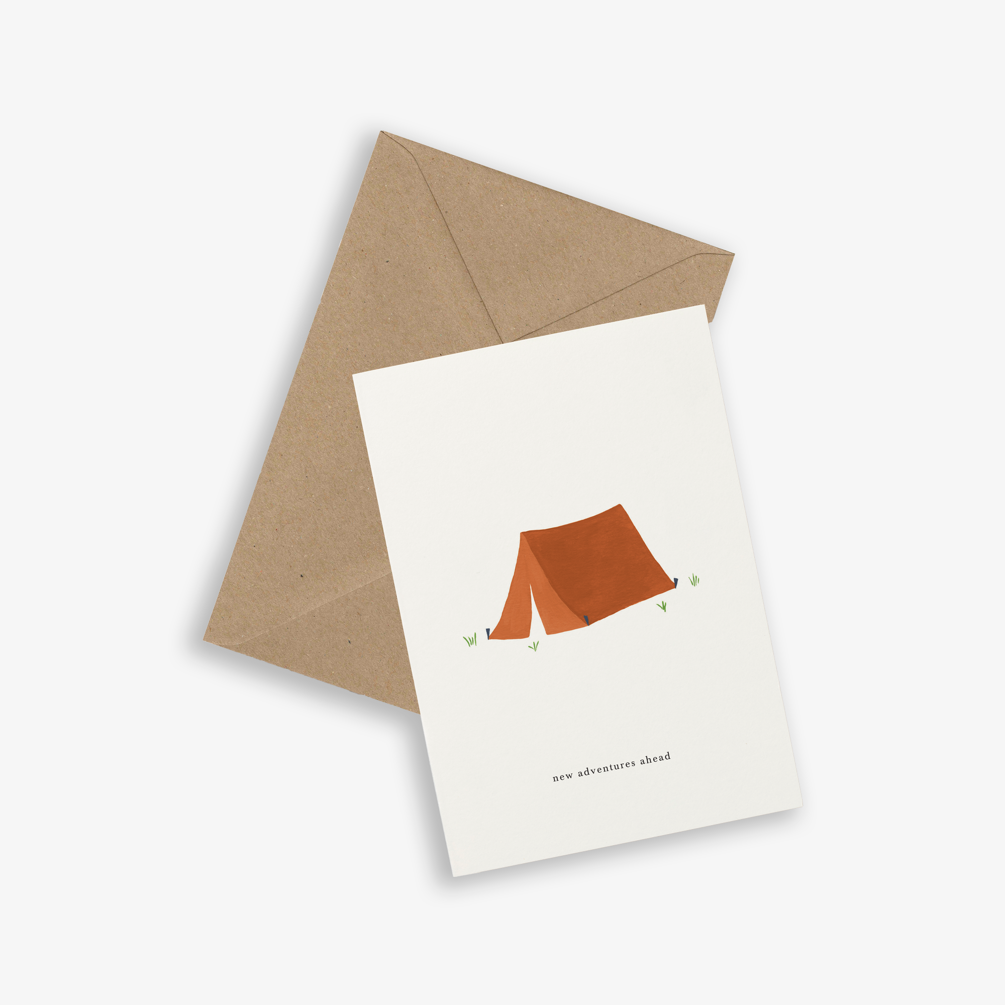 GREETING CARD / TENT