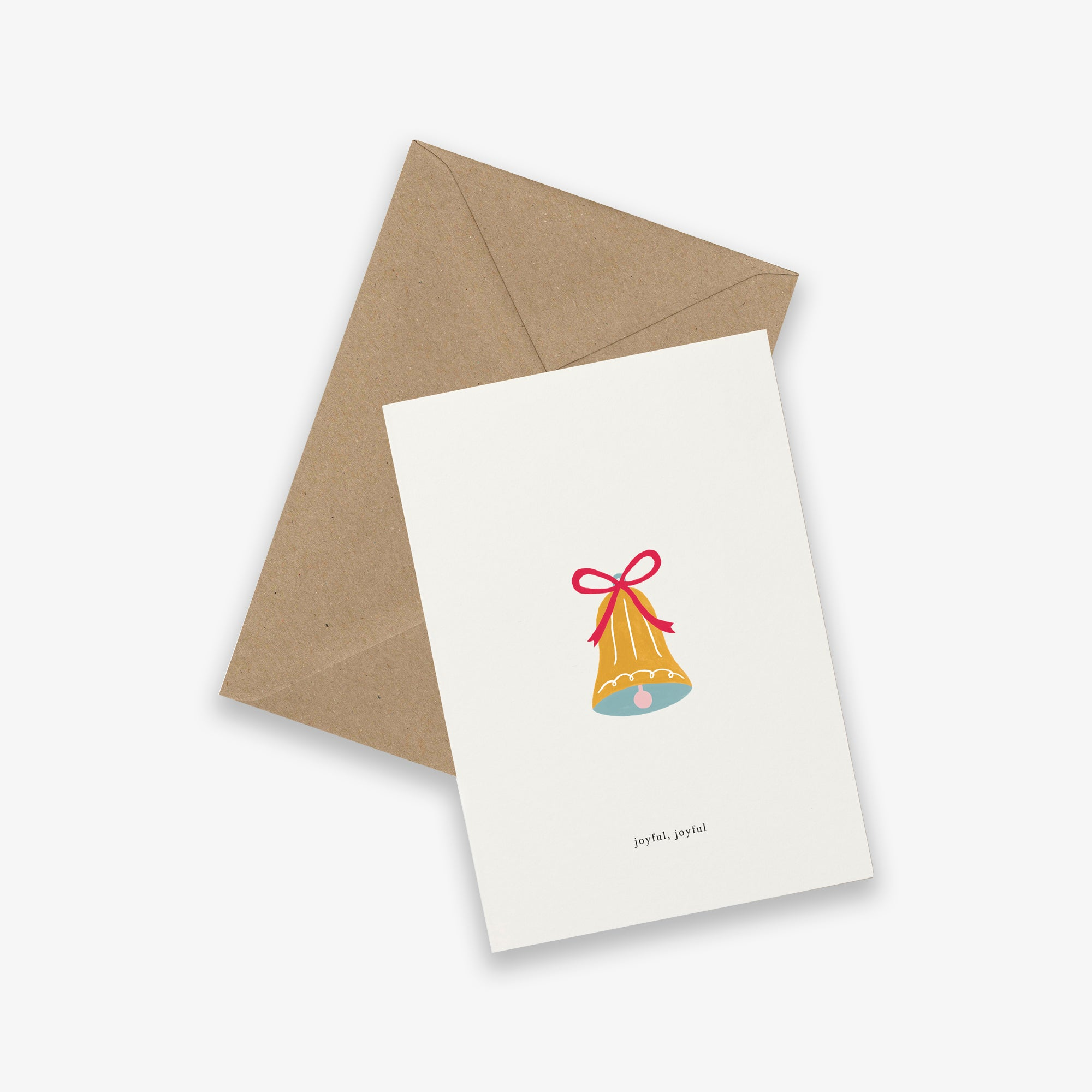 GREETING CARD // CHRISTMAS BELL