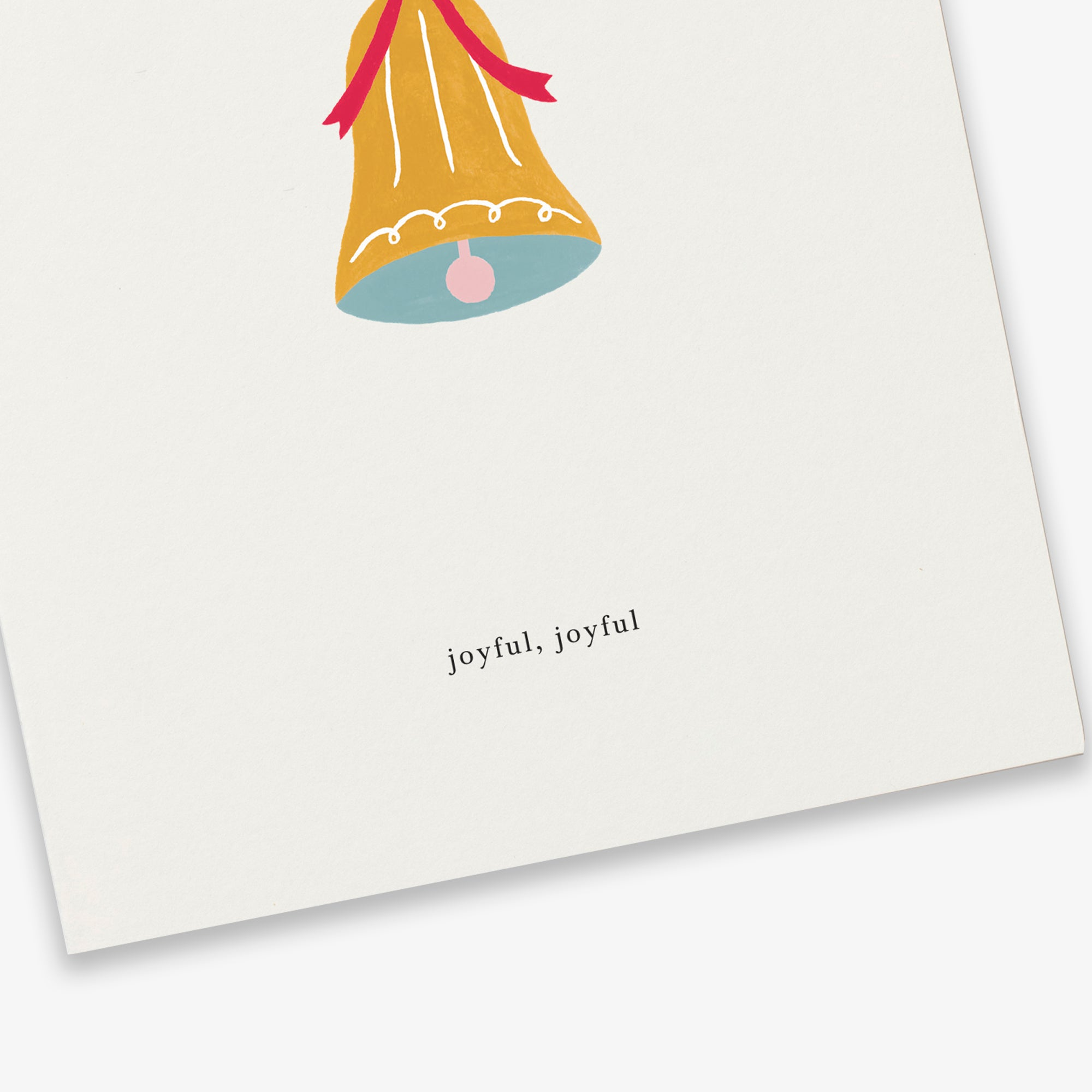 GREETING CARD / CHRISTMAS BELL