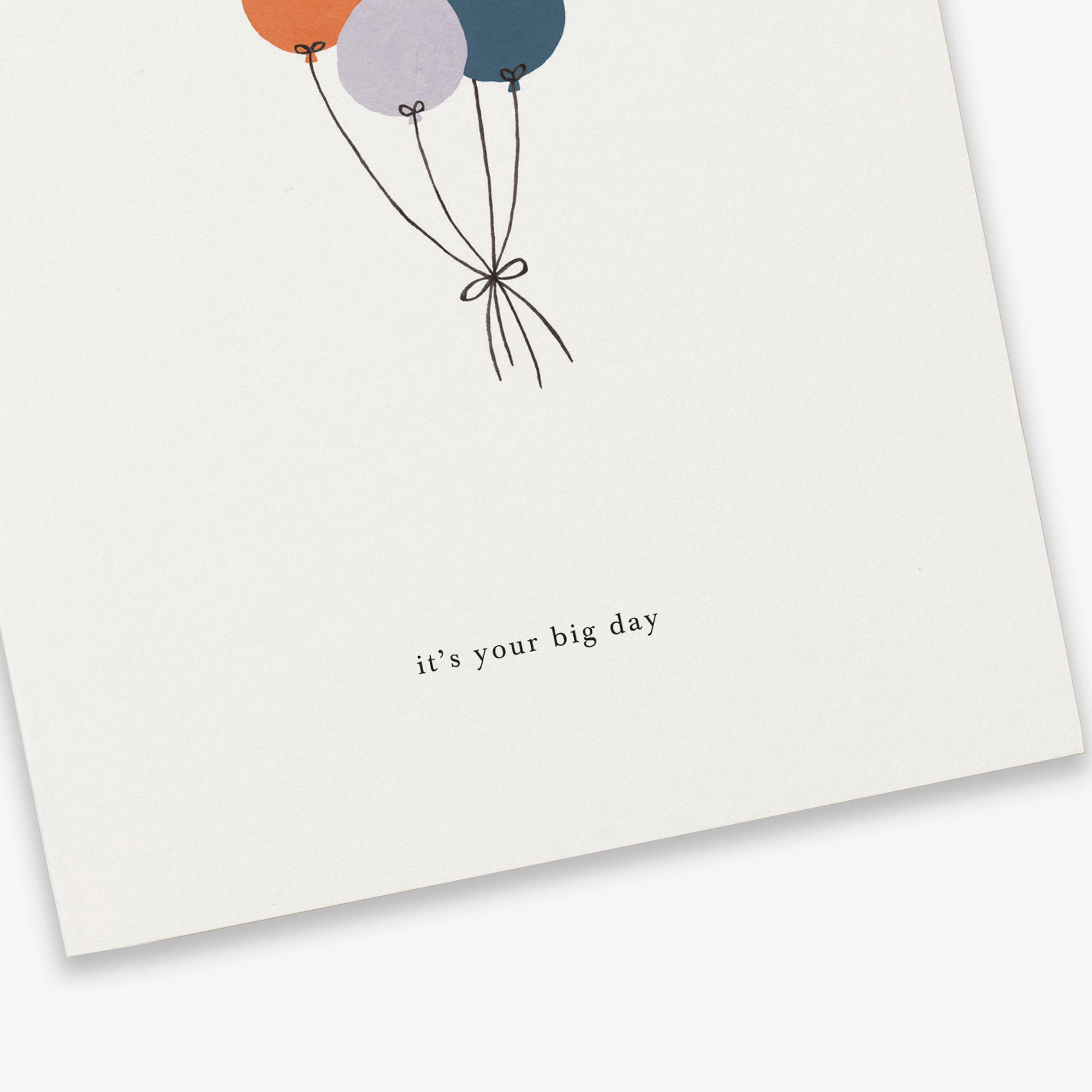 GREETING CARD / BALLOONS