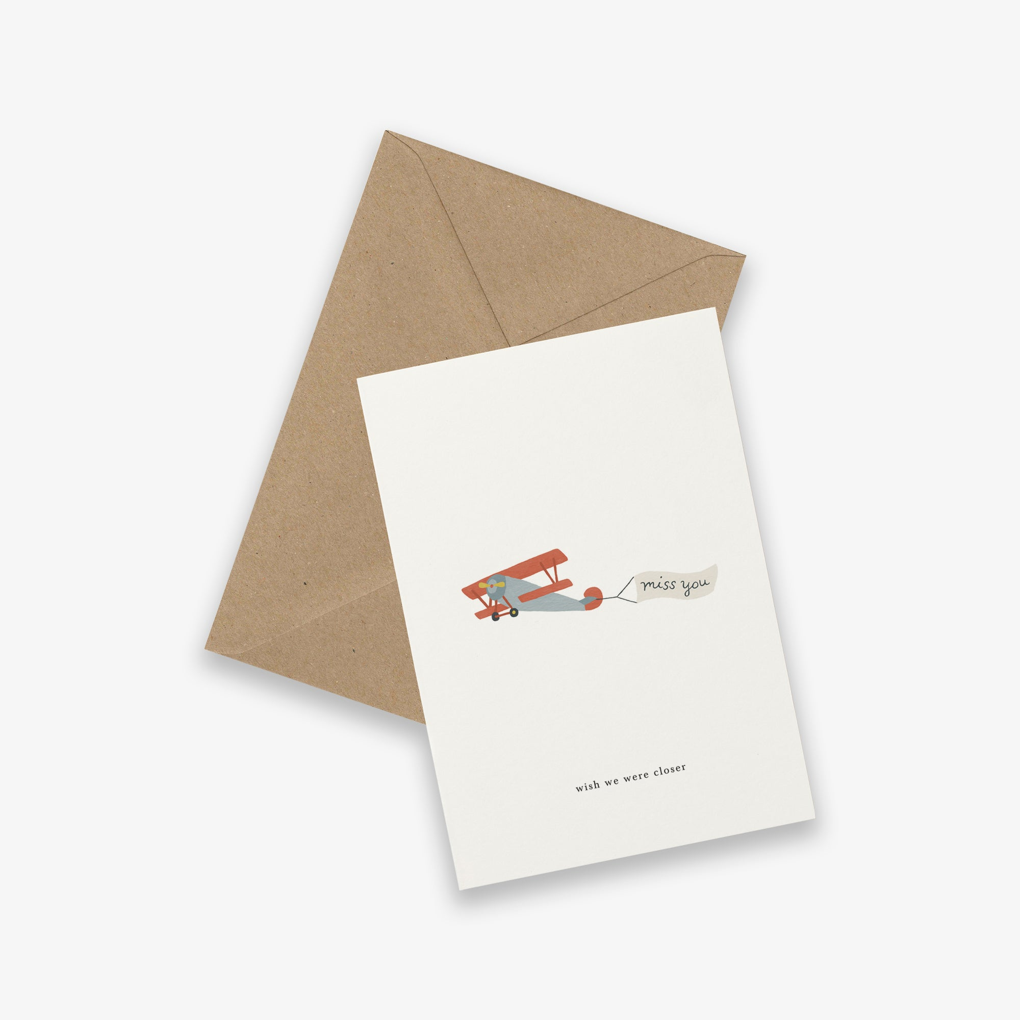GREETING CARD // AIRPLANE