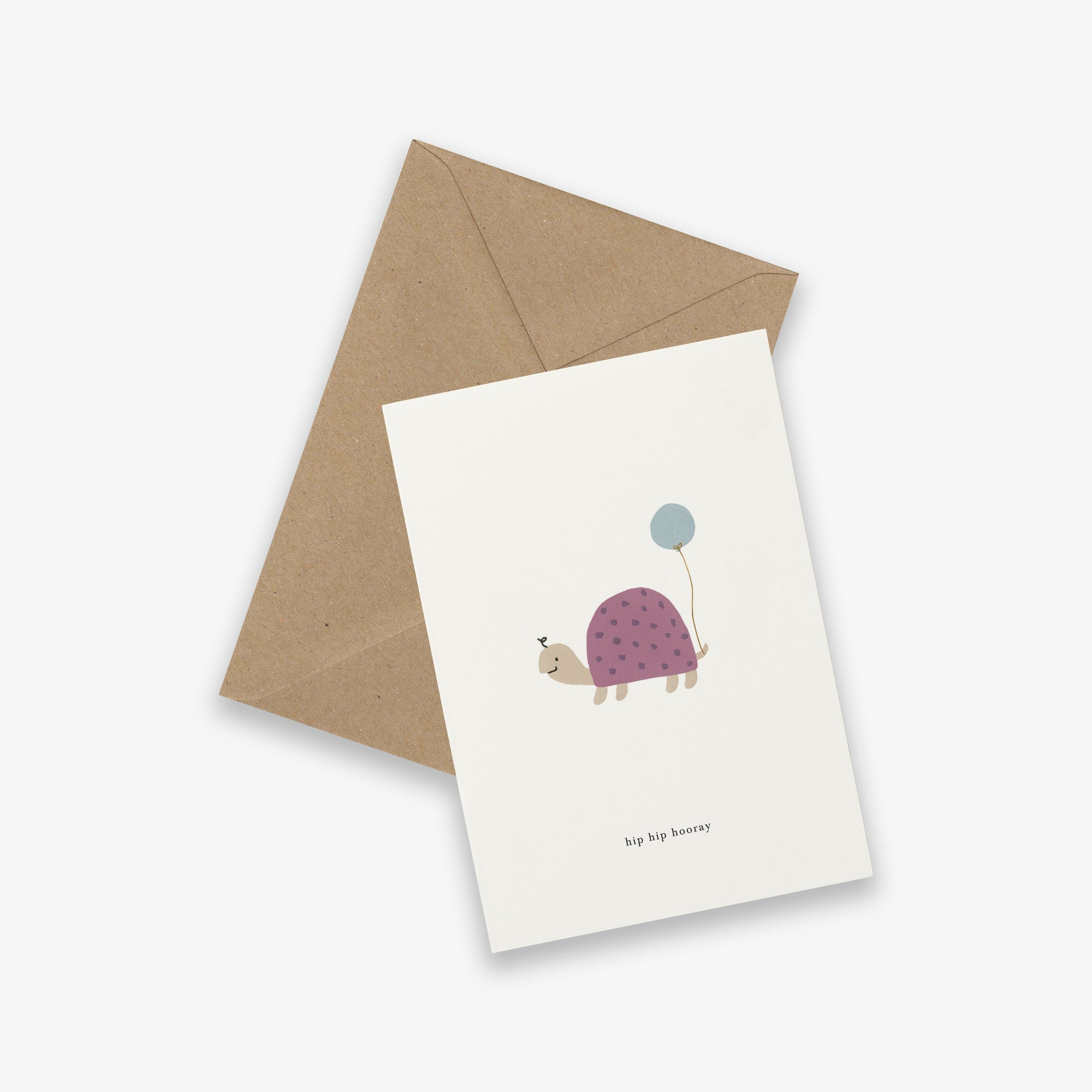 GREETING CARD // BIRTHDAY TURTLE