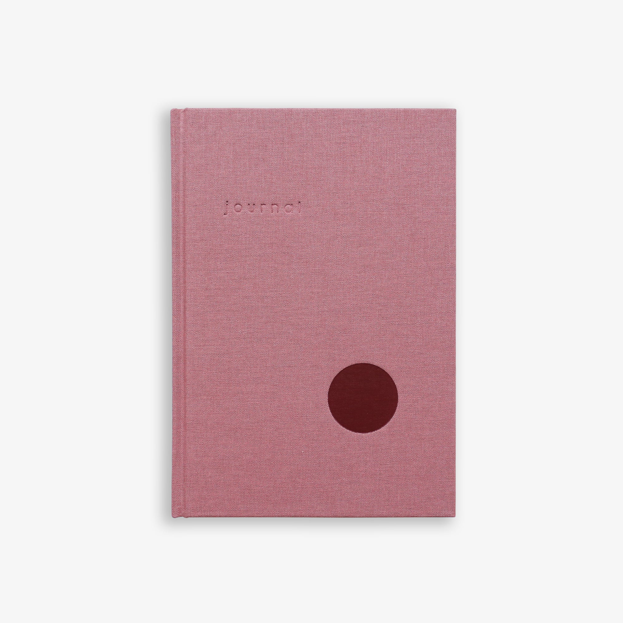 HARDCOVER JOURNAL // ROSE