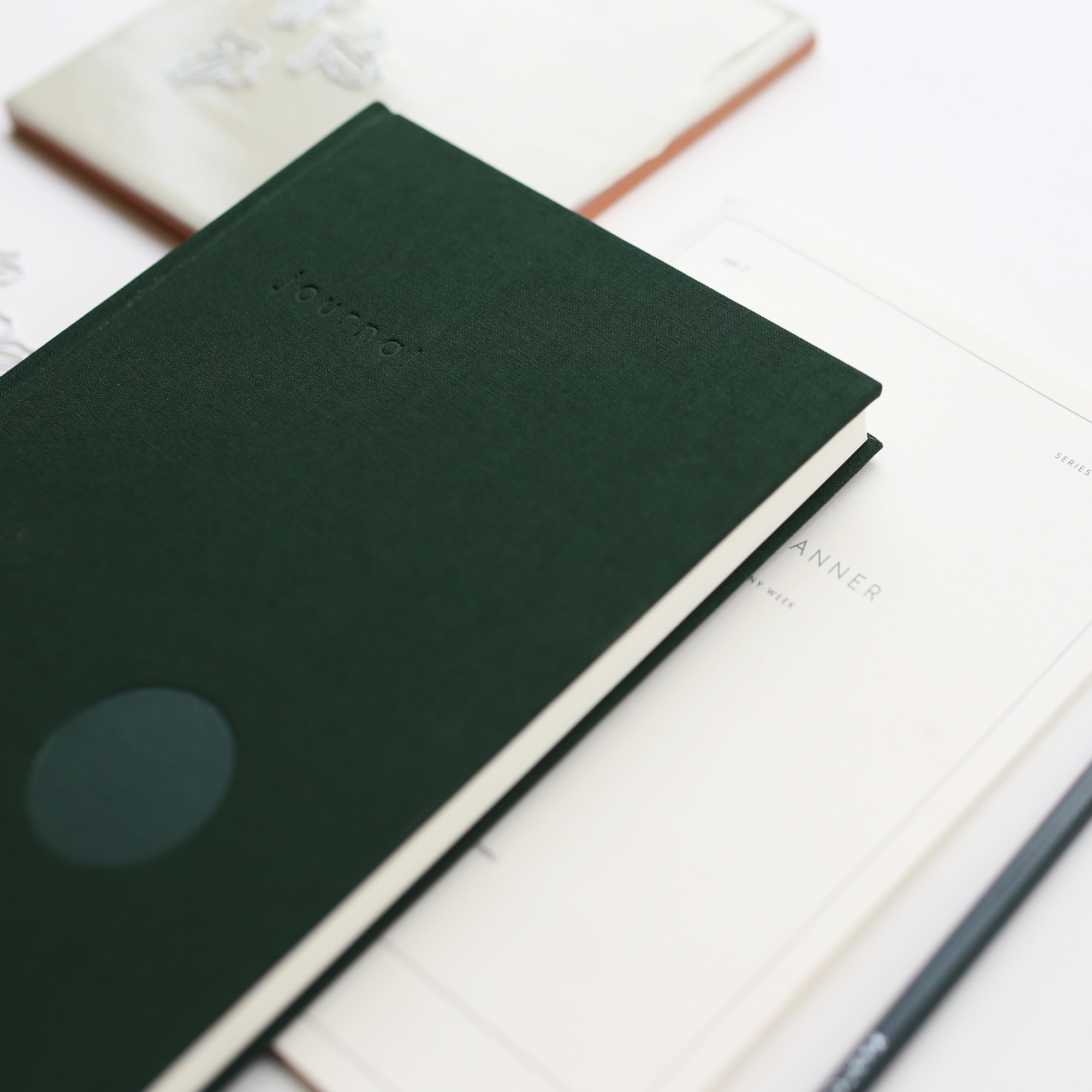 HARDCOVER JOURNAL // DARK GREEN