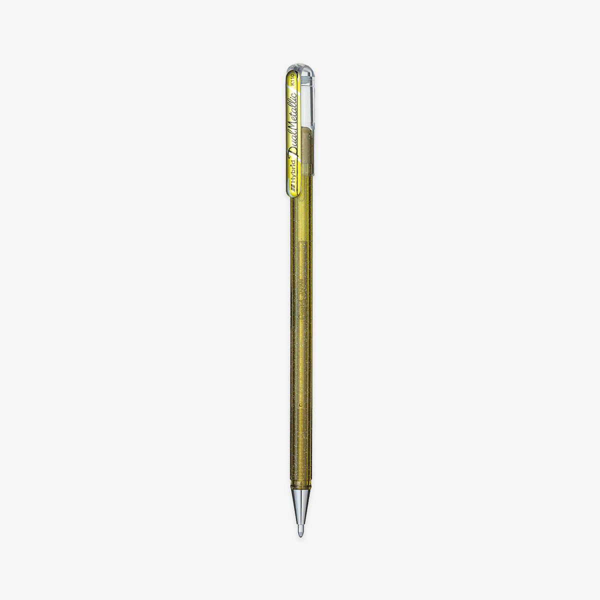 DUAL METALLIC ROLLER GEL PEN // GOLD