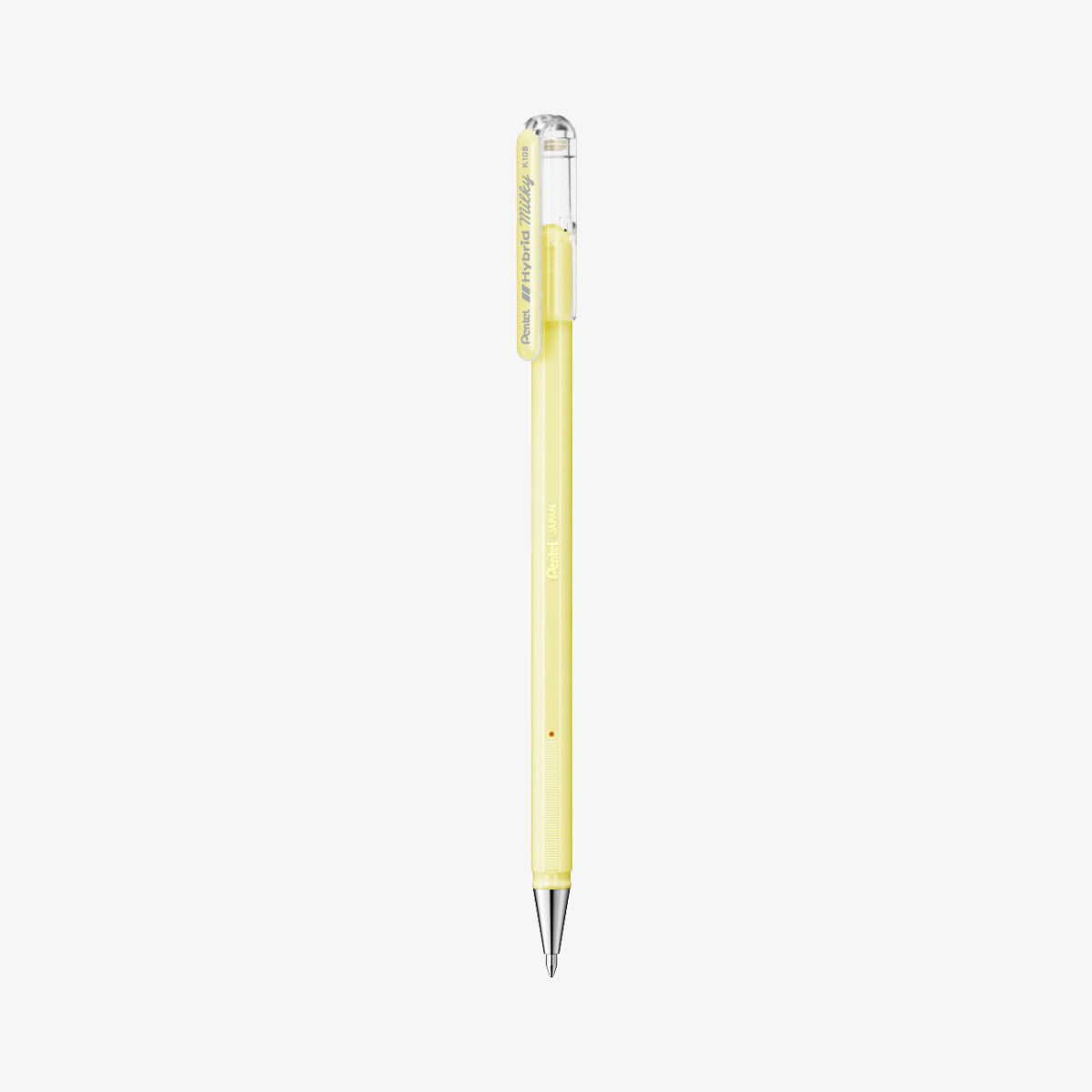 HYBRID MILKY GEL PEN // PASTEL YELLOW