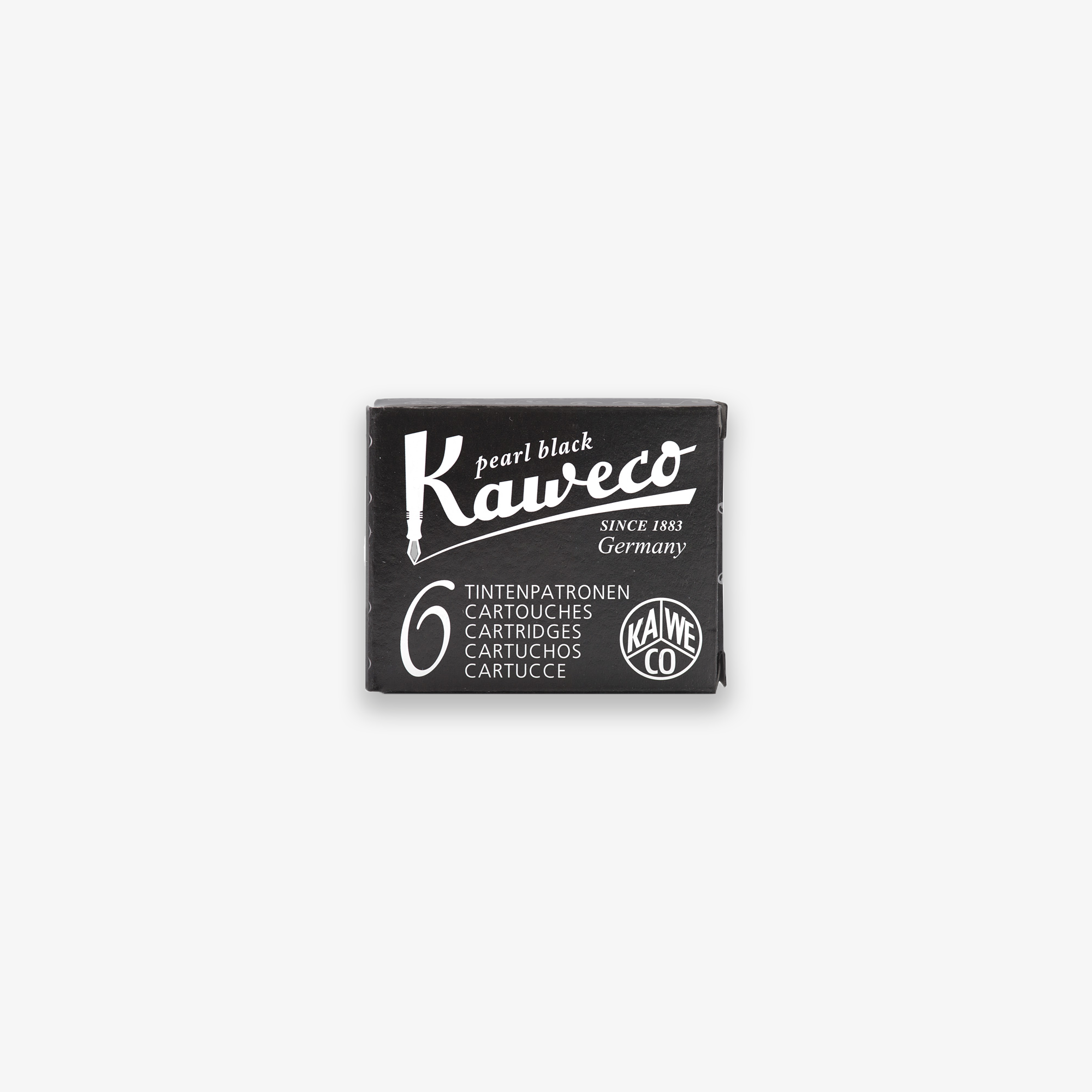 KAWECO INK CARTRIDGES 6-PACK // BLACK