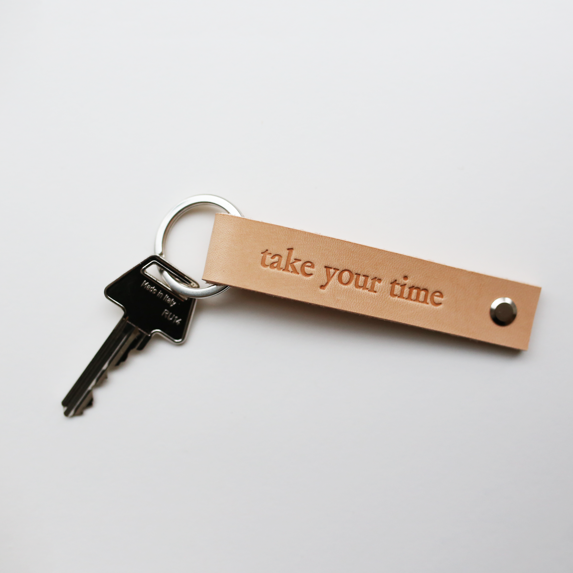 KEY HOLDER // TAKE YOUR TIME